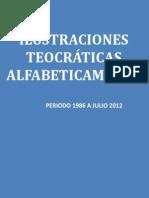 Ilustraciones Alfabeticamente 1986 a Julio 2012