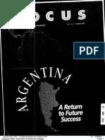 Argentina a Return to Future Success Zyprexa