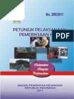 Juklak+KiPetunjuk Pelaksanaan Pemeriksaan Kinerja BPK