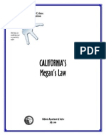 California Megan's Law
