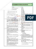 Number System Quiz Solutions for Preparation of Upcoming CAT Exam 2014