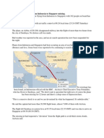 Fate of Missing Plane QZ8501 By Acharaya anil aggarwala