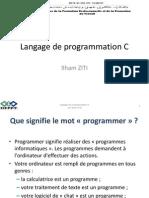 langage de programmation C