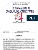 C.a. -Plan Managerial 2014-2015
