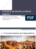 A Historia Do Direito No Brasil Imperio2011