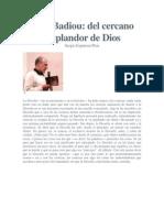 Alan Badiou- Muerte de Dios