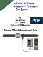 C 1 ConditionAssessmentofTransmissionCableSystems Srinivas