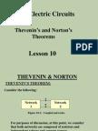 Lesson 10 Thevenin and Norton