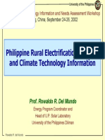 Rural Electrification Program Phils