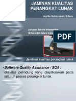 Jaminan Kualitas Software