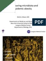 Martin J. Blaser Antibiotics and Obesity