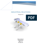 Industrial Relations 14020241033