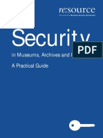 Security Manual for Museums