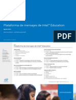 Intel Education Messaging Q2 2014