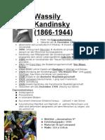 Wassily Kandinsky Handout