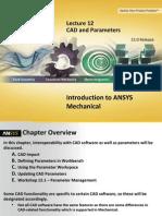 Mechanical Intro 15.0 L12 CAD-MCAD
