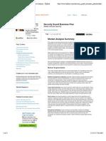 Job_9 Security Guard Sample Business Plan - Market Analysis - Bplans