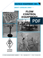 Houston Oilfield Catalog Adjustable Choke