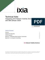 Ixia NVS - IBM QRadar Integration Guide