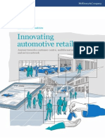 Innovating Automotive Retail