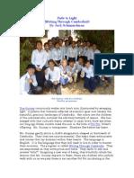 Fade to Light (Writing Through Cambodia)