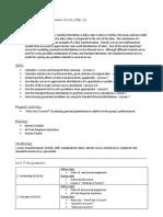 unit 3 - description and plan