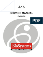 BioSystems a-15 Analyzer - Service Manual