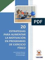 20 Estrategias Para Aumentar La Motivacion en Ejercicio Fisico
