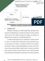 Loparex v MPI Release Mem in Supp M Enforce Subpoena
