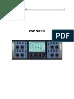 PSP Nitro Operation Manual