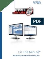 Manual de Referencia Instalacion Rapida SQL
