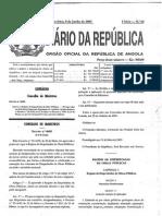 Decreto 40-2005-Regime Empreitadas Obras Publicas