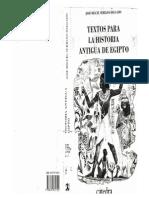 José Miguel Serrano - Textos Para Una Historia Antigua de Egipto