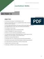 BCP I - PM - Section 14 - Presentation Skills