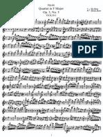 String Quartet in F, Hob 17 (Parts)