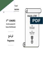 Programme ATMO 2011
