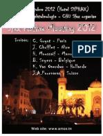 Sfax Retina Meeting 2012