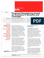 proposed regulations issued on summary of benefits and coverage dec 29 2014