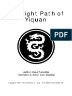 The Right Path of Yiquan