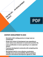 Presentation - MDGs