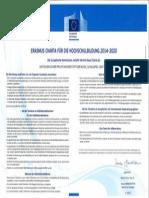 Erasmus Charta Abpu 2014-2020