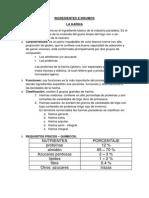 Costos y Analisis