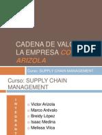Cadena de Valor de La Empresa Comaco Arizola (1)