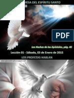 Lección 01 - La Promesa Del Espíritu Santo