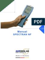 Spectran-nf 5035 Manual
