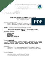 TEMATICA LICENTA SILVICULTURA 2012 (1).doc