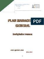 2. Plan Managerial General Invatamant Primar 2014-2015(1)