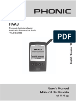 PAA3 analyzer Manual