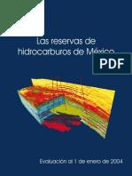 Reserv as Pemex 2004