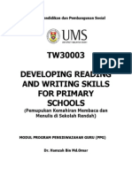 Developing Reading & Writing Skills for Year 6 Primary School
